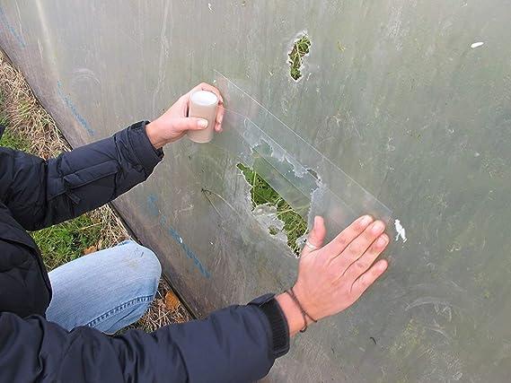 yardwe Reparaci/ón cinta Reparaci/ón Invernadero cinta adhesiva cinta adhesiva Poly kunsts SmartOffice n/ítido Outdoor pegamento transparente 6/cmx10/m