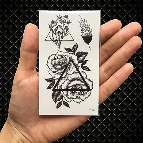 UGsLTyVqv Impermeable Tatuaje Temporal Etiqueta León Corona de la ...