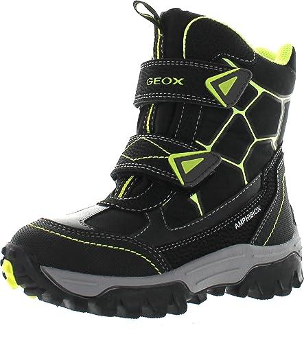 aa324ff55f Amazon.com | Geox Boys Himalaya Waterproof Fashion Winter Snow Boots ...