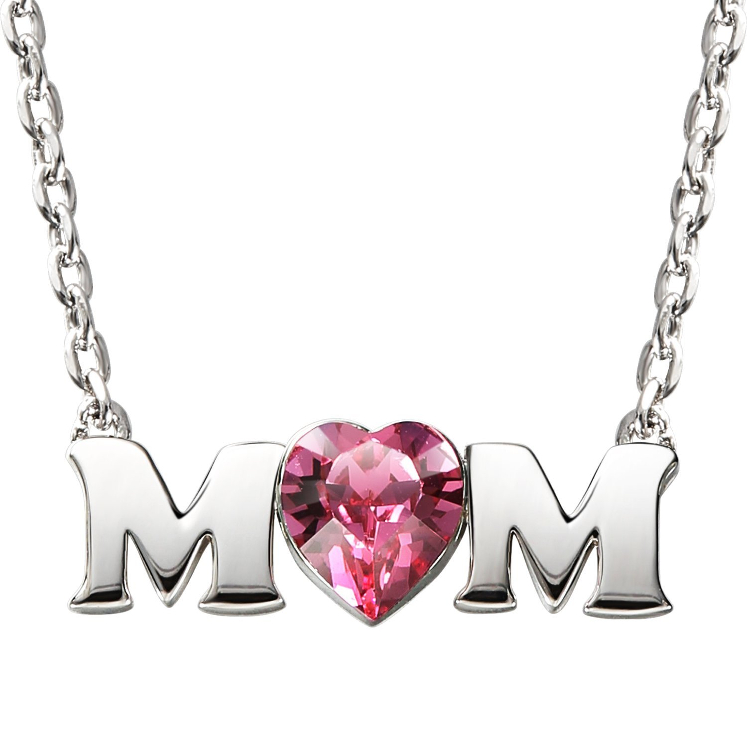 SILYHEART Gift For Mom Necklace Mothers Day Jewelry Gifts Birthday From Daughter Son