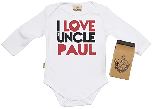 Sr gift boxed personalised i love uncle paul baby babygrow baby sr gift boxed personalised i love uncle paul baby babygrow baby onesie baby negle Gallery