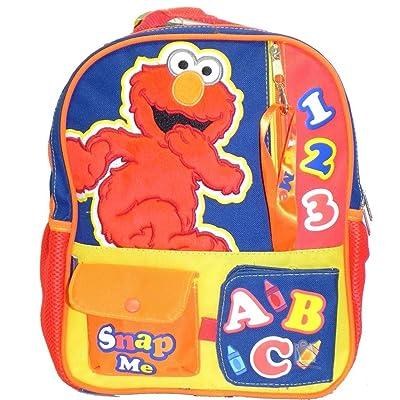 """12"""" Sesame Street Elmo Toddler Backpack"""