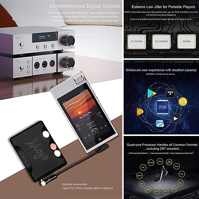 hifi Cayin N5iiS Reproductor De Música Portátil Android Sin ...
