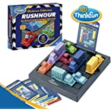 Think Fun Rush Hour Deluxe Traffic Jam Logic Game and STEM Toy – Tons of Fun With Over 20 Awards Won, International Bestseller for Over 20 Years