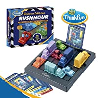 ThinkFun Rush Hour Deluxe Edition Game,Logic Games