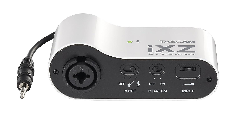 Tascam iXZ Mic//Guitarra interfaz para iPad//iPhone//iPod