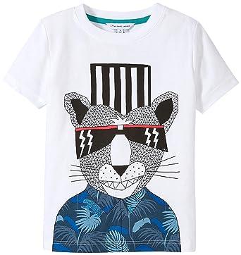 1554ec64c73798 Little Marc Jacobs - T-Shirt pour Homme Blanc - Blanc - 5 ans ...