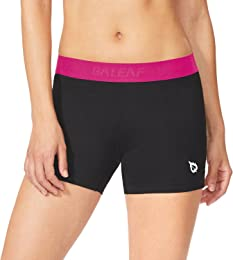 Baleaf Women's 3'' Performance Volleyball Compression Shorts