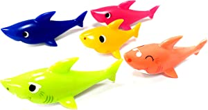 NEW Baby Shark Family Toy Figurines by Furious Narwhal
