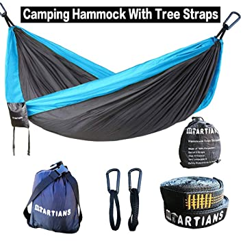 Bedding Sets Smart Portable Hammock Outdoor Camping Hunting Mosquito Net Parachute Nylon Hammock Hanging Bed Leisure Swing Sleeping Bed Attractive And Durable Home & Garden
