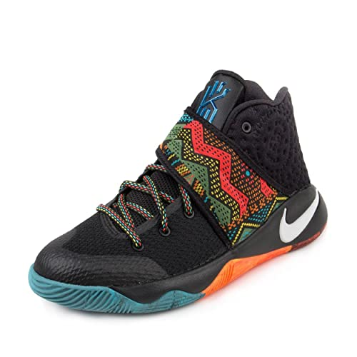 outlet store 90db4 dacec Amazon.com   Nike Kyrie 2 GS (BHM) Black Multi-Color-Multi-Color 7Y    Basketball