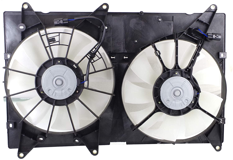 Garage-Pro Cooling Fan Assembly for LEXUS RX300 1999-2003 / HIGHLANDER 2001-2007