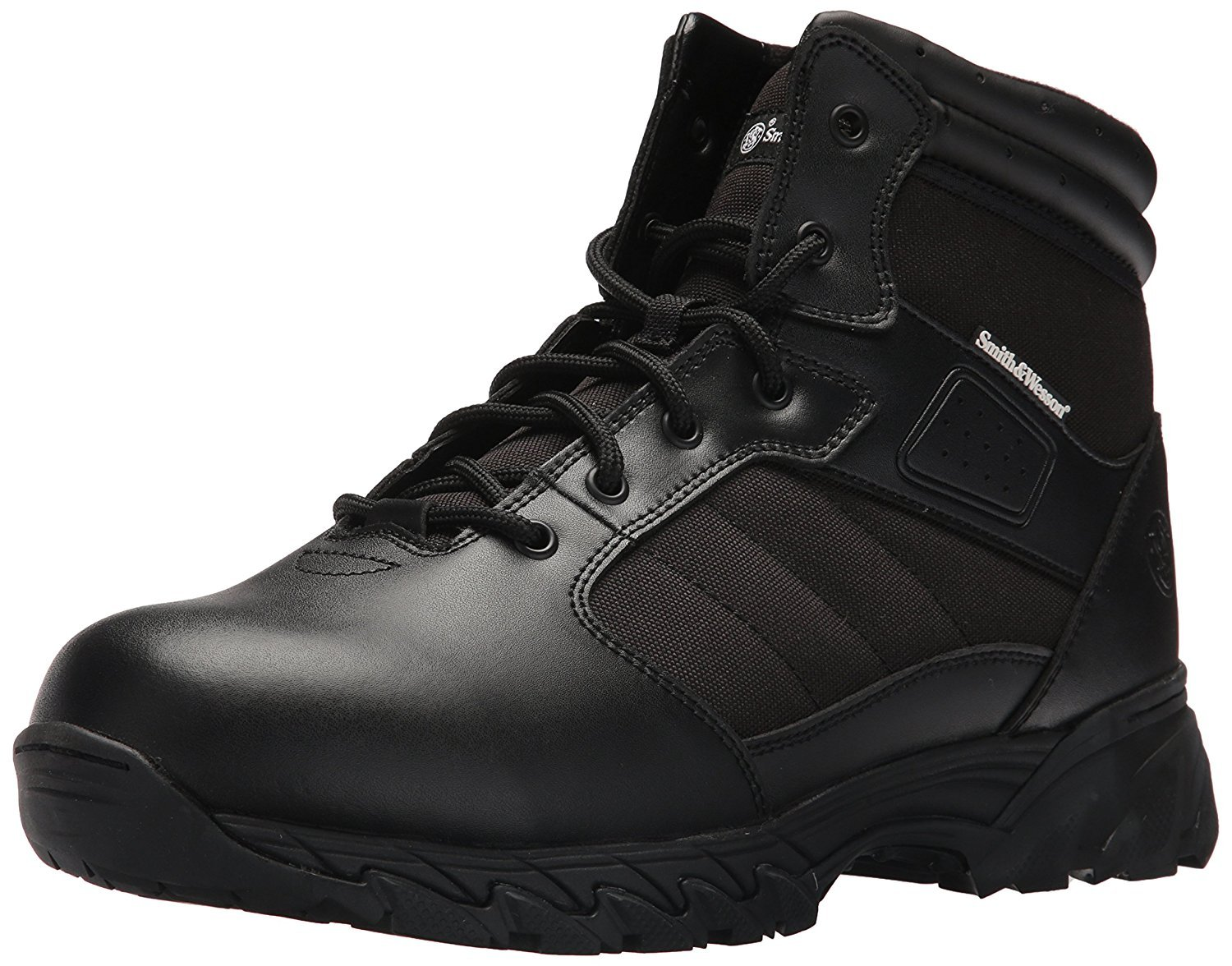 Smith & Wesson Men's Breach 2.0 Tactical Size Zip Boots, Black, 11