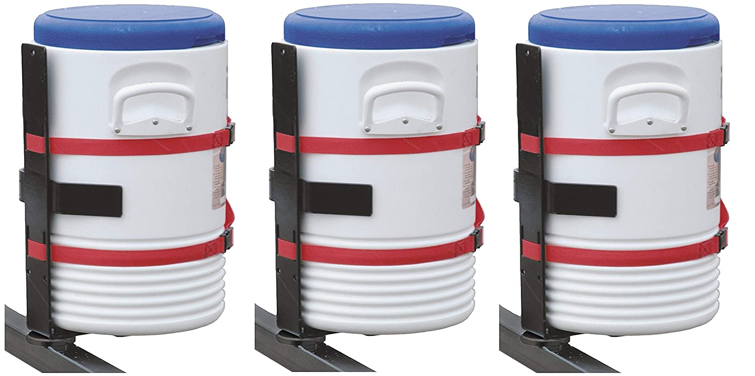 Pack of 2 Buyers Products LT25 Water Cooler Landscape Truck and Trailer Rack