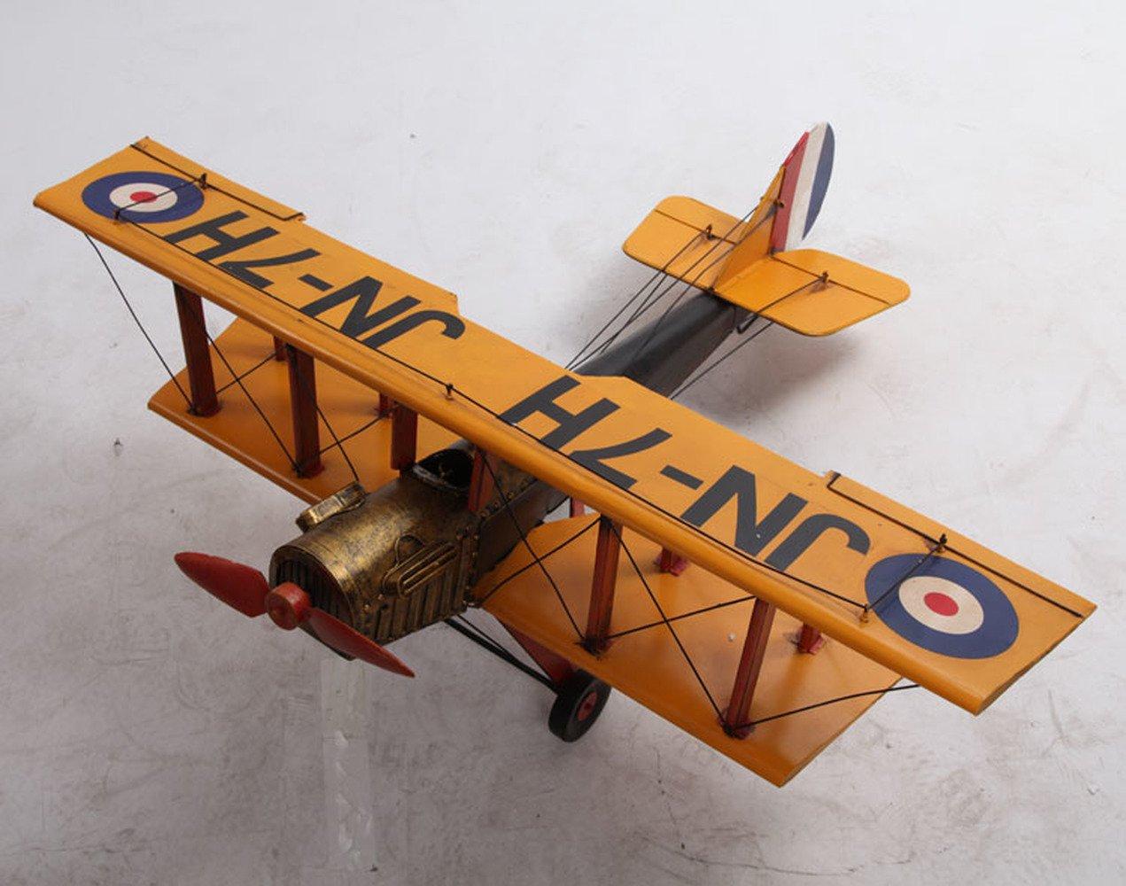 BWLZSP A PCS Retro aircraft model Iron ornaments Handmade crafts Antique fighters Window decorations AP5241555