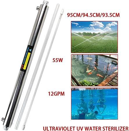 TFCFL - Purificador de agua ultravioleta (esterilizador UV, 55 W, ósmosis inversa + bombilla extra de 110 V, 55 W, G.W, 3,5 kg): Amazon.es: Hogar