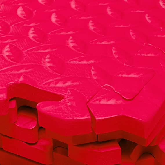 Set de esterillas protectoras de #DoYourFitness con 18 esterillas con piezas de puzle 6 piezas de puzle de 30 x 30 x 1,2 cm (ca.