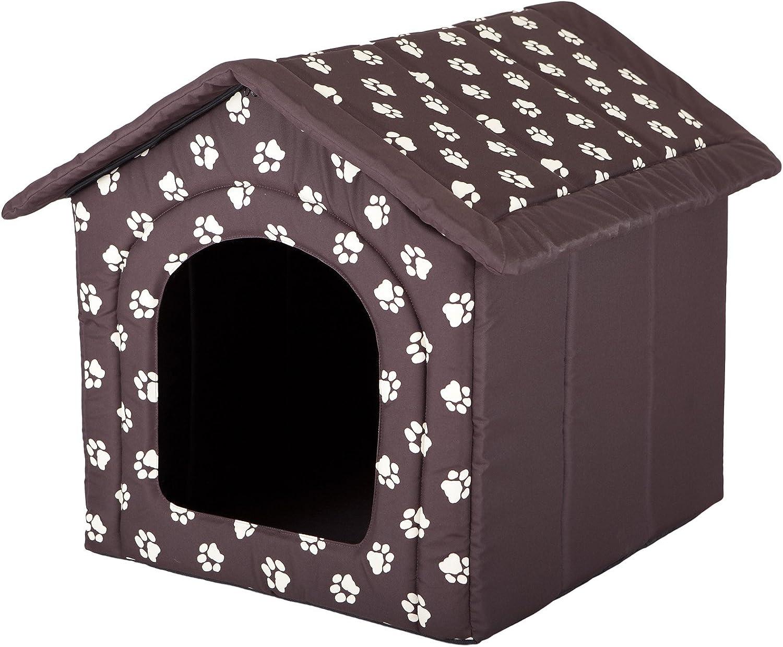 Hobbydog - Casa para Perro, tamaño 4, Color marrón con Patas