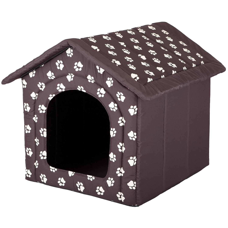Hobbydog - Casa para Perro, tamaño 4, Color marrón con Patas: Amazon.es: Productos para mascotas