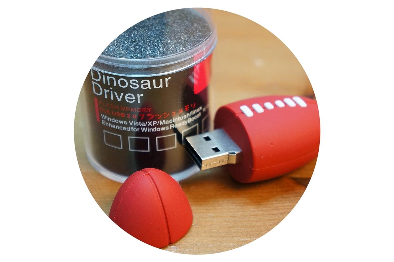 MEMORIA USB 8 GB DINOSAUR DRIVER BALON RUGBY PENDRIVE USB 2.0 ...