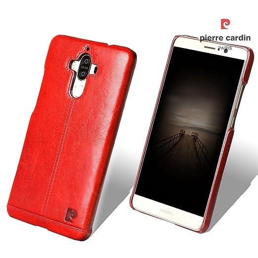 1 opinioni per Huawei Mate 9 Custodia telefonino, Pierre Cardin Premium Vintage di Lusso in