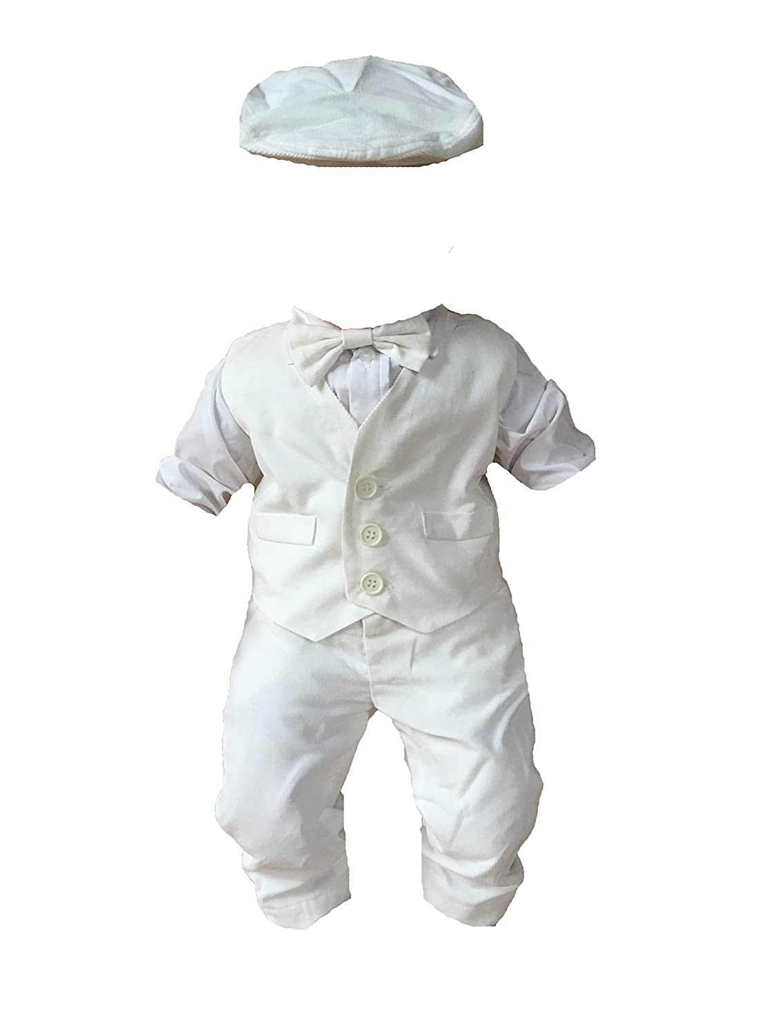 SixforKids Baby Boys' Christening Gown