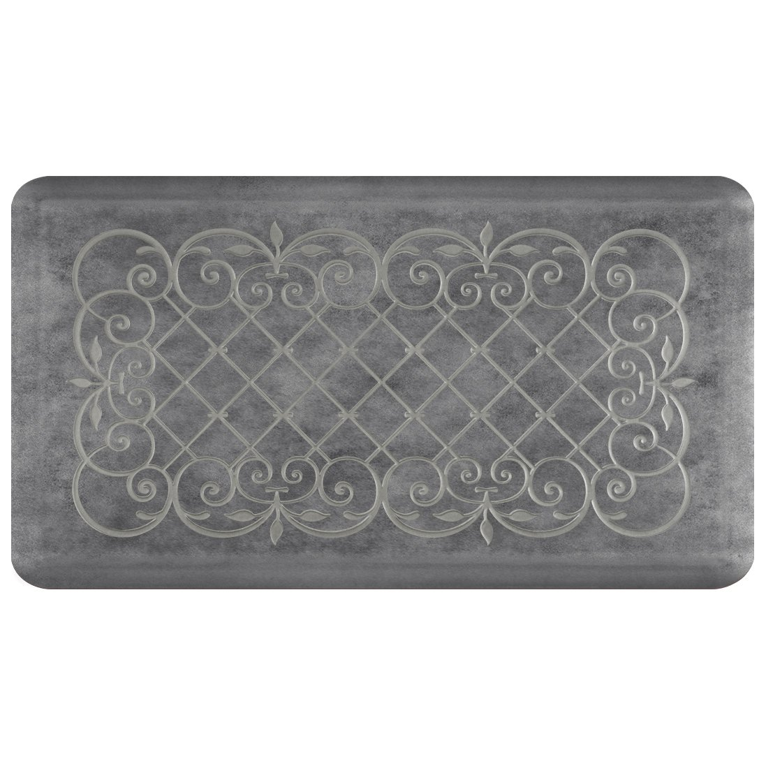 Smart Step Home Collection Anti-Fatigue Mat, Slate, 36'' X 20''