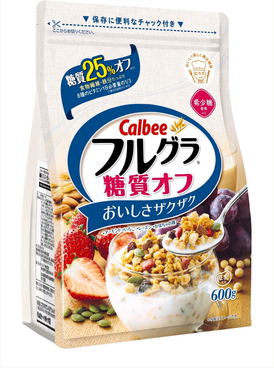 【カルビー】フルグラ 糖質オフ 600g