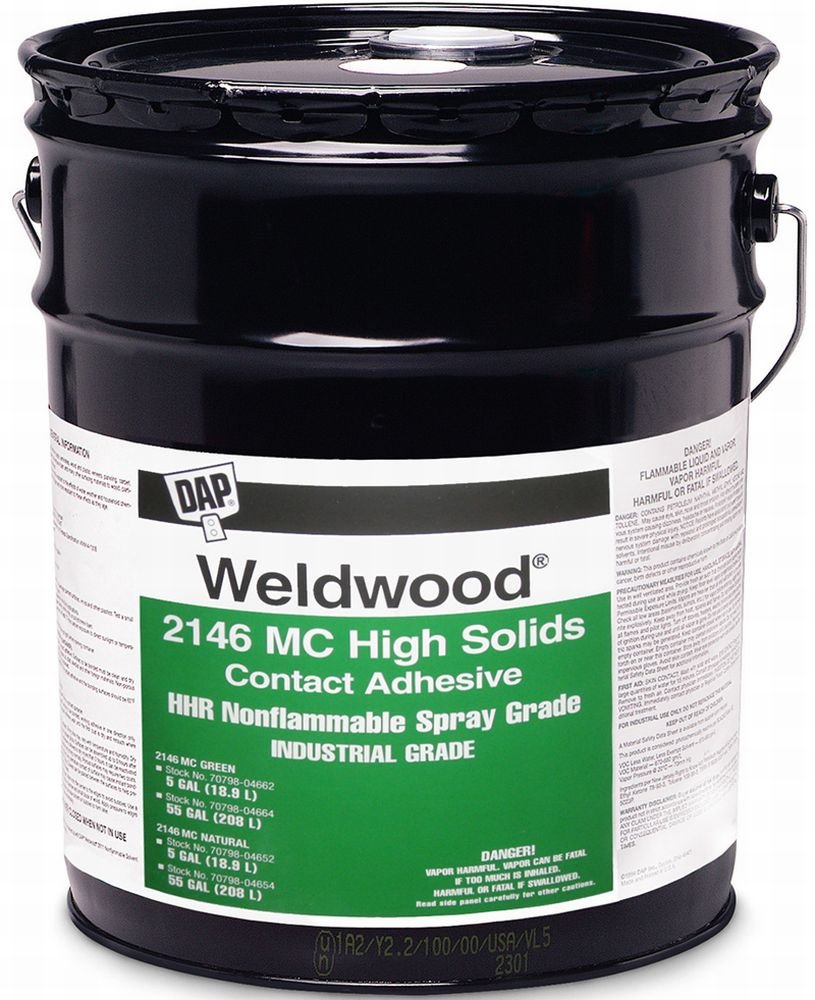 Dap 04664 55 Gallon Weldwood 2146 M.C. grado de alta sólidos ...