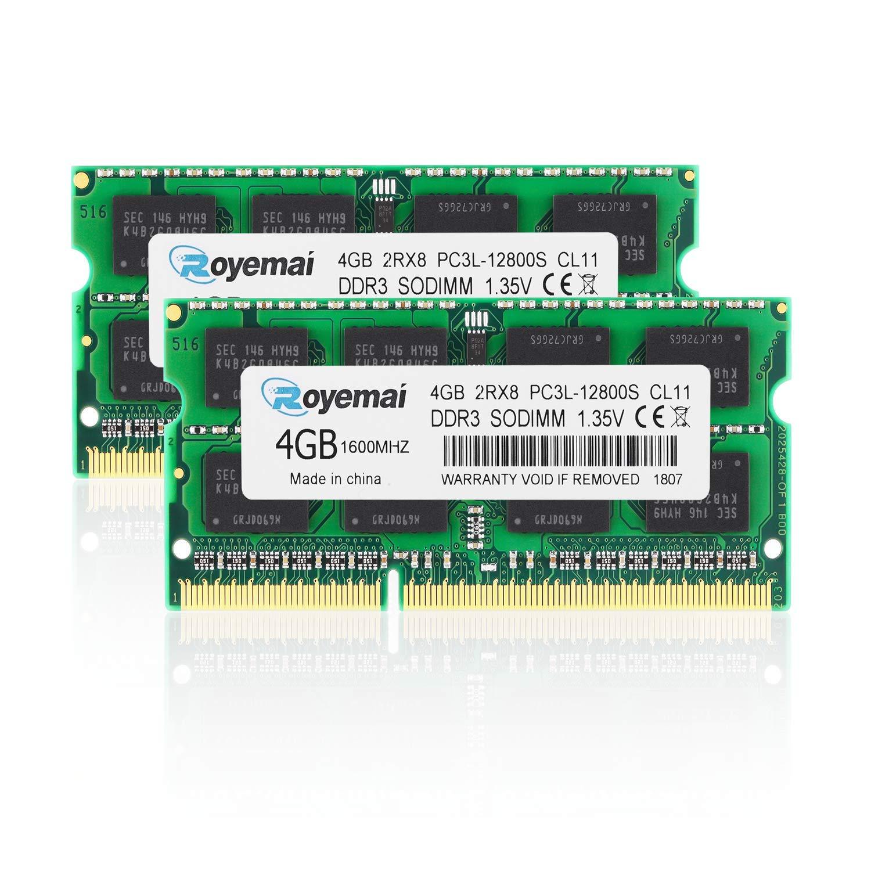 Memoria Ram 8GB (2X4GB) DDR3 1600MHZ SODIMM DUOMEIQI C