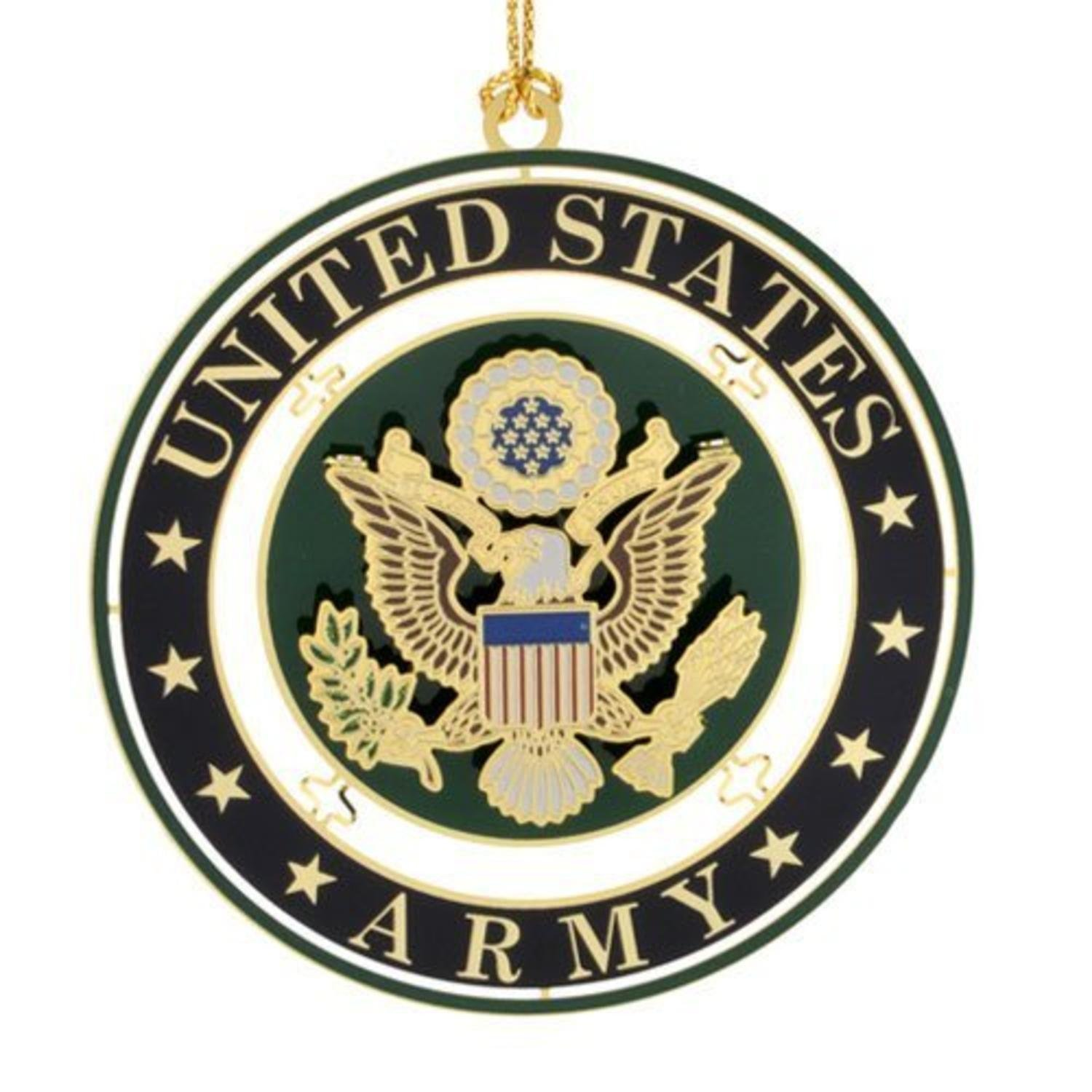 United States Army Seal Christmas Ornament