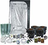 Complete 3 x 3 (39 x39 x79 ) Grow Tent Package With  sc 1 st  Amazon.com & Amazon.com : SuperCloset Big Buddha Box Vertical Grow System With ...