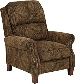 Beaumont Warm Brown Paisley Push-Thru Arm 3-Way Recliner  sc 1 st  Amazon.com & Amazon.com: Ashley Furniture Signature Design - Nadior Recliner ... islam-shia.org