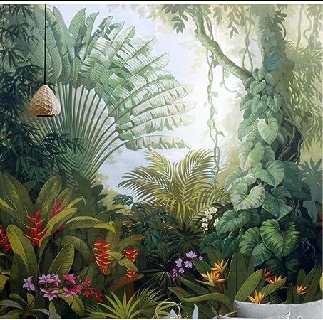 Komar 8 989/Papier peint photo en papierJungle Trail avec colle Largeur x hauteur Taille: 368/x 254/cm 8/pi/èces fabriqu/é en Allemagne Multicolore