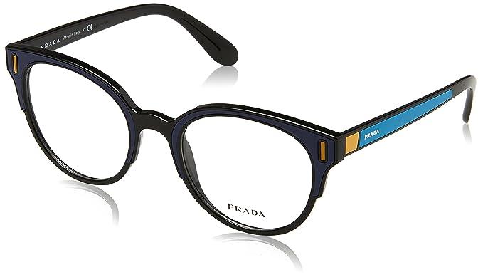 bac73f567b5 Prada Women s PR 08UV Eyeglasses 50mm at Amazon Women s Clothing store