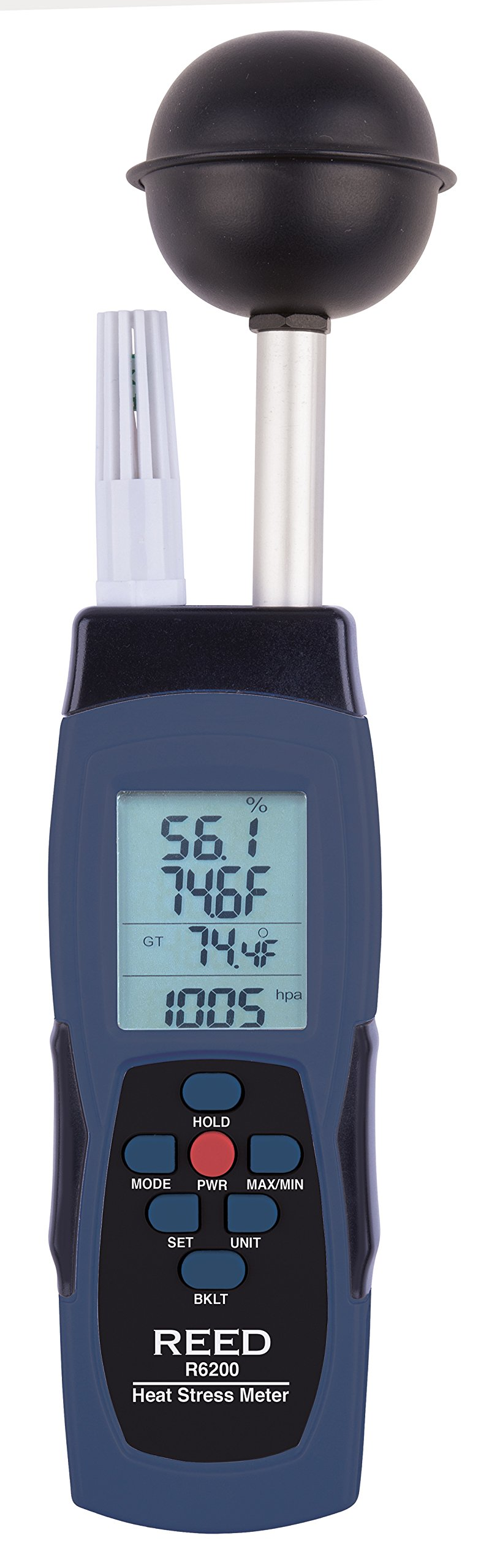 REED Instruments R6200 WBGT Heat Stress Meter by REED Instruments