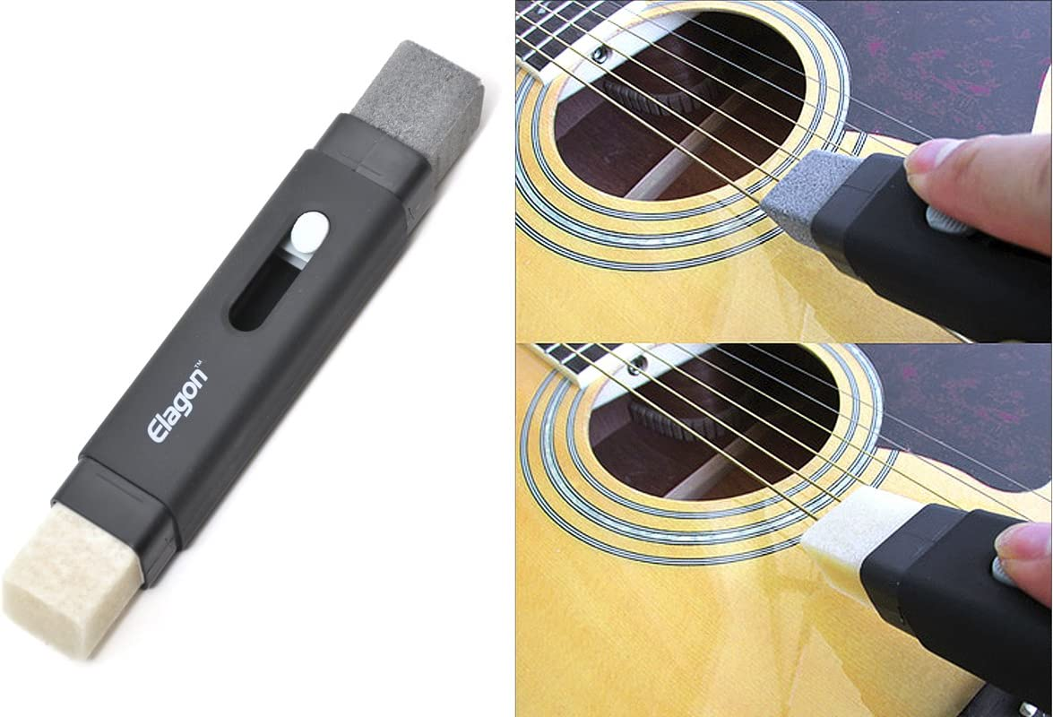 Elagon (ST) Kit de limpieza Guitarra Pro – El kit de Mantenimiento ...