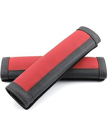 Amazon.es: Almohadillas para cinturón de seguridad: Coche y moto