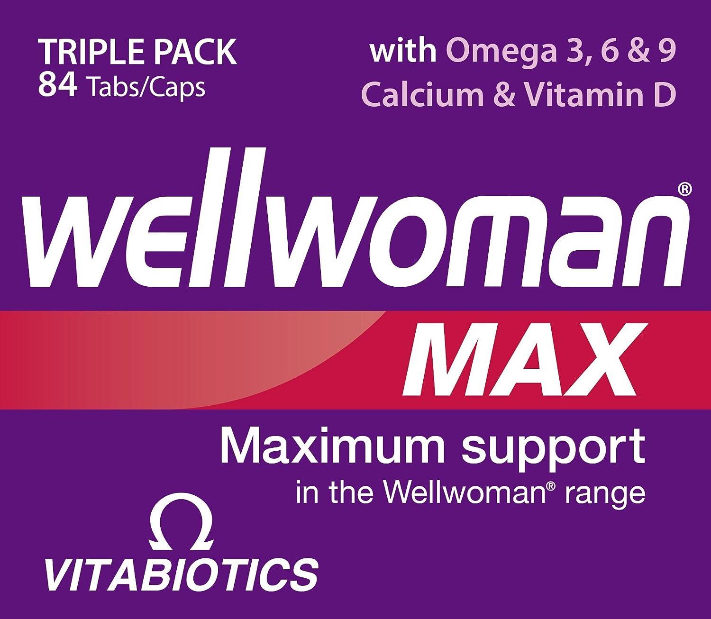 Wellwoman Max Capsules - by Wellwoman: Amazon.es: Salud y cuidado personal