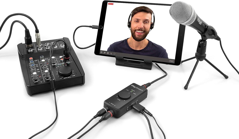 Amazon.com: IK Multimedia iRig Stream 2-channel recording & live ...