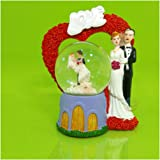 Day Snow Globe For Gift for love Couples and Home decoration item (Couple Standing Snow Ball)