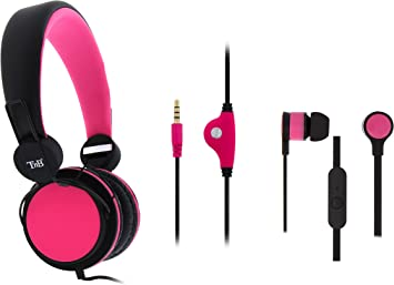 T NB de 2 en 1 Pack Auricular peatones Juego/Auriculares in-Ear: Amazon.es: Electrónica