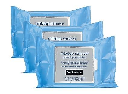 eutrogena maquillaje Remover Limpieza towelettes, Paquete de recambio, 25-Count