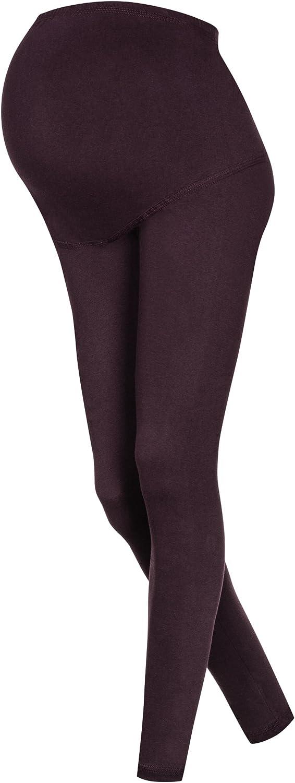 OssaFashion Femme Leggings Coton Pleine Longueur Grossesse et Maternite Pantalon Haute Qualite ete