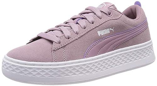 Schwarz Weiß Schuhe Puma | Smash Platform Sd Sneaker