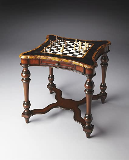 Beau Butler Specialty Company Game Table, Brown