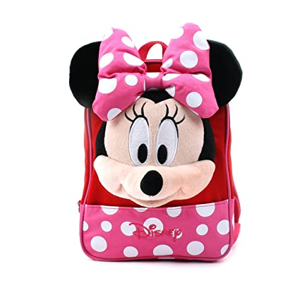 Disney Mickey Minnie Mouse Finger Backpack with Safety Harness for Children  (Pink)  Amazon.co.uk  Luggage 4f6b56cf92