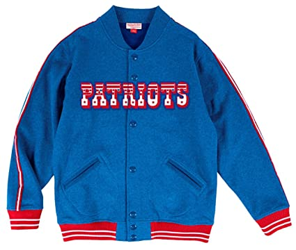 newest e09df a077e Mitchell & Ness New England Patriots NFL Play Call Men's Premium Fleece  Jacket