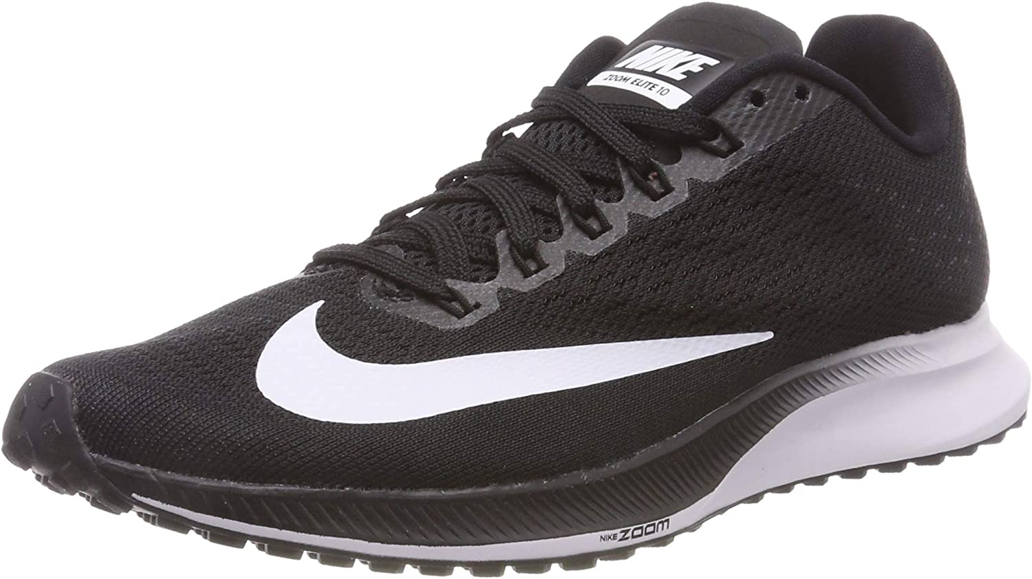 Nike Wmns Air Zoom Elite 10, Zapatillas de Running para Mujer, Negro (Black/White-Volt 001), 40 EU: Amazon.es: Zapatos y complementos