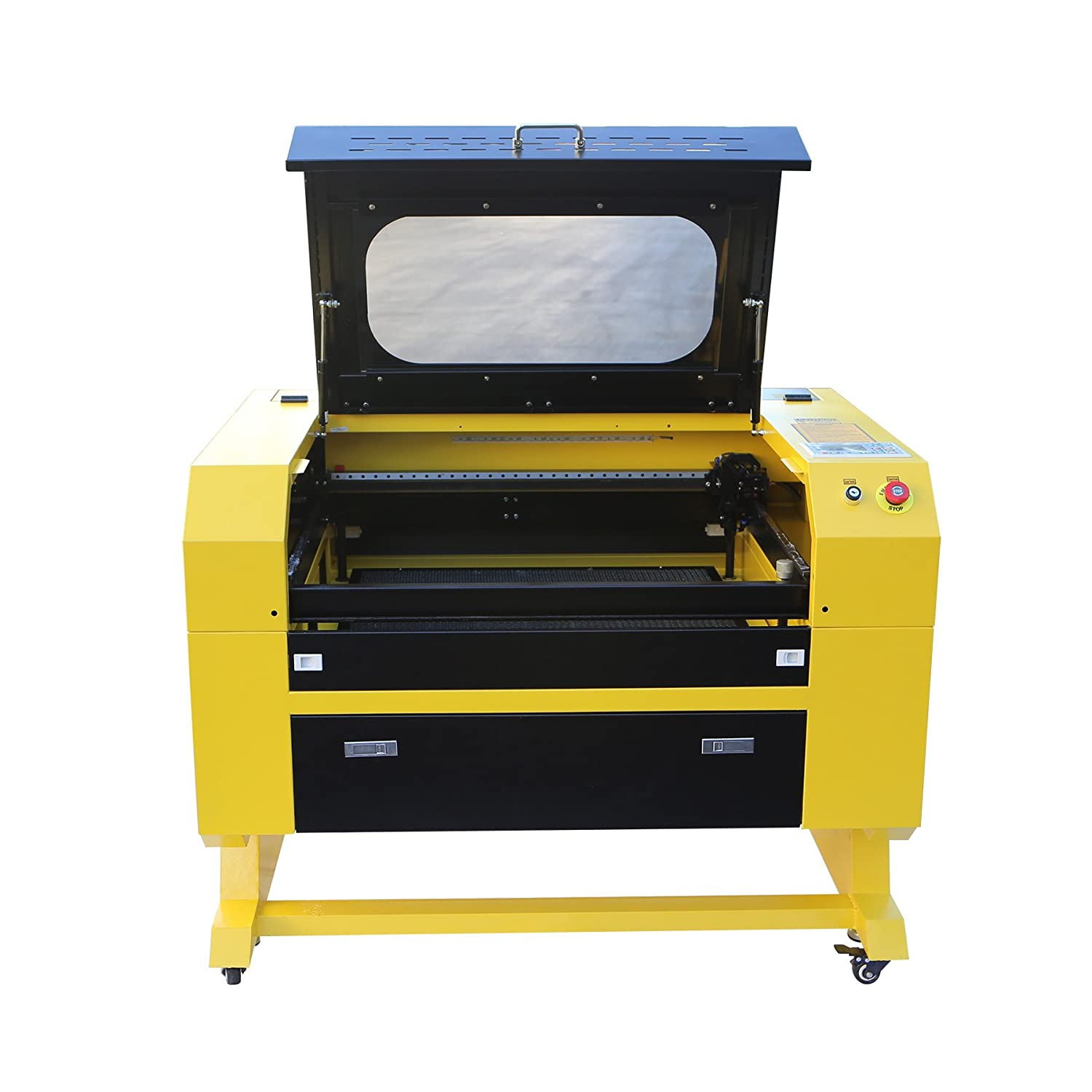Orion Motor Tech 60W CO2 Laser Cutter Engraver, 110V DIY Laser Cutting  Engraving Machine with DSP Control System and USB Interface(20 x 28 Inches